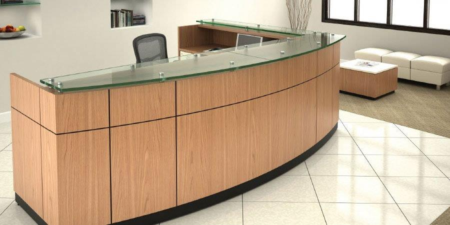 Custom Commercial Desk